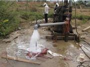 20% giếng nước ngầm trên thế giới có nguy cơ cạn kiệt
