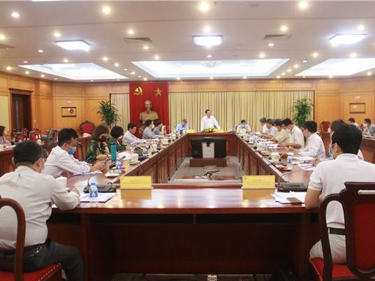 Lãnh đạo Bộ KH&CN làm việc với Cục Sở hữu trí tuệ