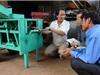 Máy lột vỏ sắn tự động: Hoàn thiện sau 15 năm