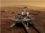 Trung Quốc hạ cánh thành công robot thăm dò đầu tiên trên sao Hỏa