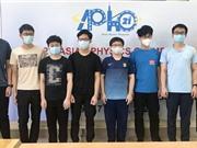 Lần đầu học sinh Việt Nam đạt điểm cao nhất tại Olympic Vật lý châu Á-Thái Bình Dương