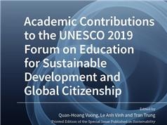 Xuất bản mở sách chuyên đề về giáo dục vì sự phát triển bền vững và công dân toàn cầu