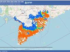 Phần mềm Dự báo hạn mặn ở ĐBSC: Dự báo thủy triều trên hai vạn điểm theo thời gian thực