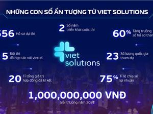 Viet Solutions 2021: Tiếp nhận cả ý tưởng và tăng gấp ba giá trị giải thưởng