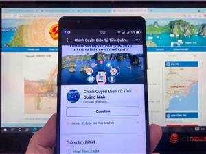 Quảng Ninh 'làm mới' công tác tuyên truyền chống dịch qua cổng dịch vụ công và mạng xã hội