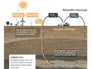 Dùng ánh nắng để tạo ra khí đốt
