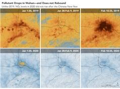 Chất lượng không khí trong đại dịch phụ thuộc vào thời tiết, không chỉ vào lệnh cấm đi lại