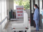 Robot VIBOT hỗ trợ đắc lực công tác phòng, chống dịch Covid-19