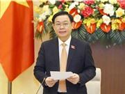 Chủ tịch Quốc hội làm việc với Tổ công tác thực hiện Nghị quyết liên quan tới phòng, chống COVID-19