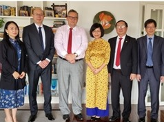 Cán bộ Bộ KH&CN nhận Huân chương Sư tử Phần Lan