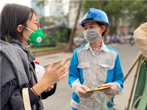 Giới trẻ: Từ truyền thông đến nghiên cứu ô nhiễm không khí