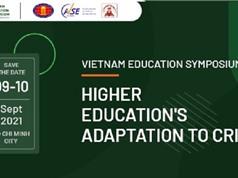 Hội thảo quốc tế về chủ đề giáo dục đại học thích ứng với khủng hoảng