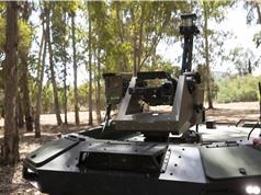 Israel ra mắt robot vũ trang tuần tra biên giới