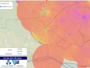 Kết hợp cảm biến và ảnh viễn thám để giám sát chất lượng không khí