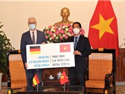 Đức hỗ trợ bổ sung 2,6 triệu liều vaccine AstraZeneca cho Việt Nam