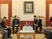 Bộ trưởng Huỳnh Thành Đạt tiếp Đại sứ LB Nga