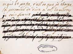 Ai đã tẩy xóa các bức thư của hoàng hậu Marie Antoinette?