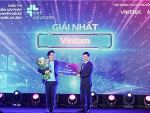 Giải pháp chuyển dữ liệu số thành video vô địch Viet Solutions 2021