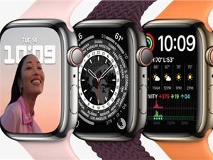 Apple Watch Series 7: Thiết kế mới với màn hình lớn hơn, bền hơn