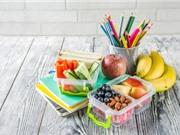 Trẻ em ăn nhiều trái cây và rau có sức khỏe tinh thần tốt hơn